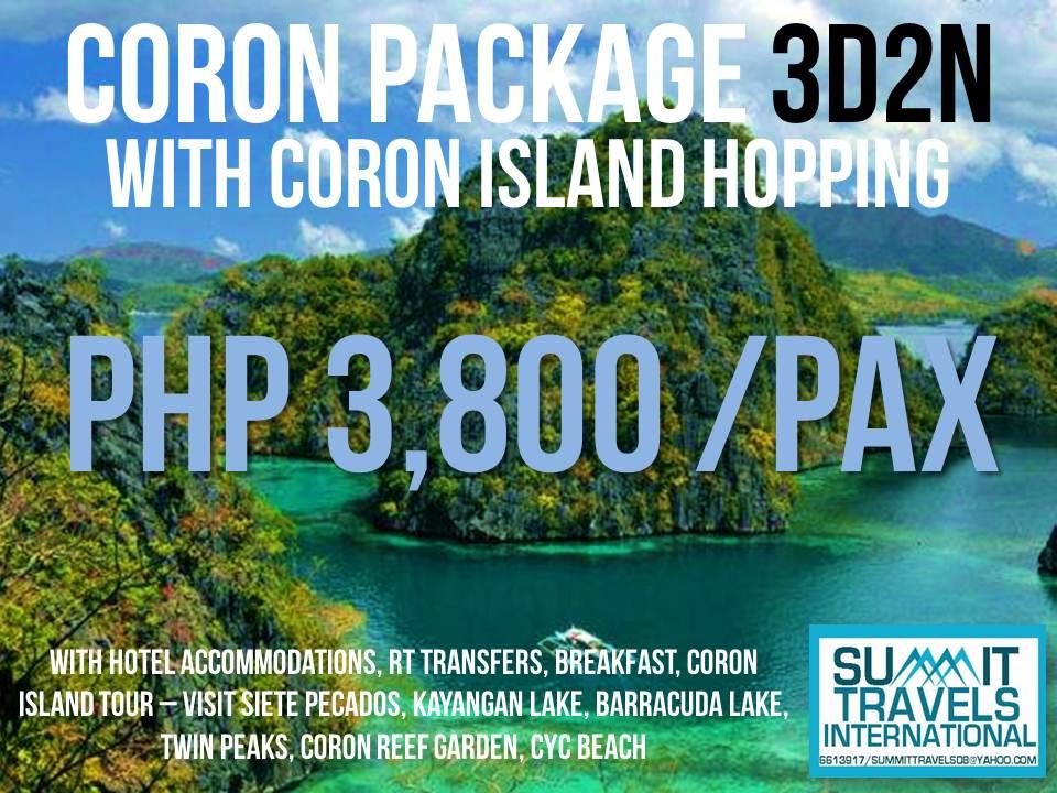 Coron Palawan Island Tour Package