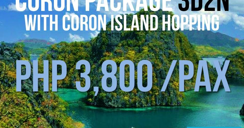 Budget Travel Philippines Coron Package With Island Tour