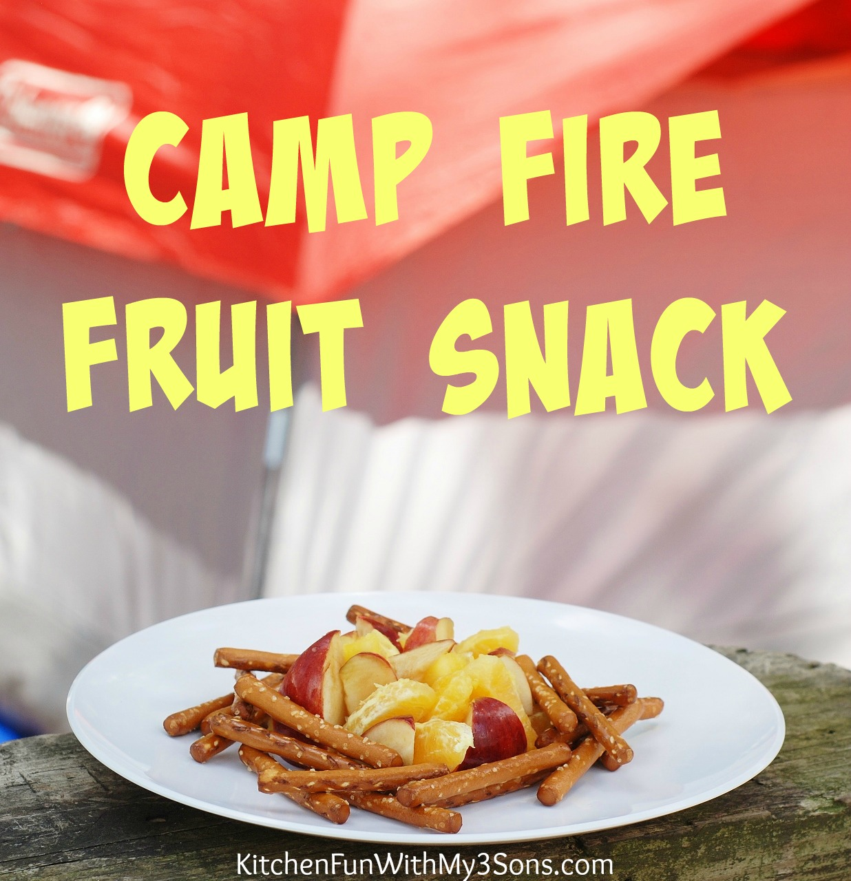 Camp Food Ideas: Fun Camping Ideas For Kids. Camping Recipes And Fun