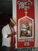 FAMOSOS NA CASA DE JORGE