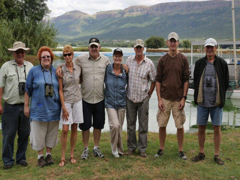Coordinated Water Birds - Hartbeespoort 'Green Team'  February- 2014