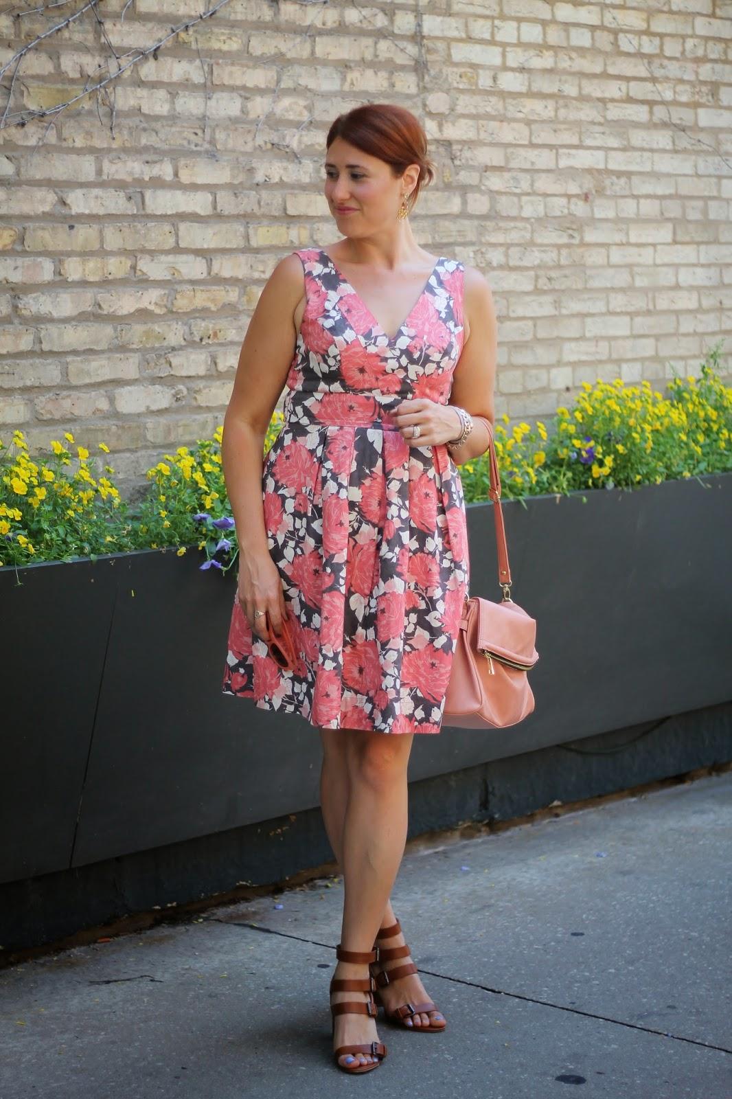 floral, forever, 21, dress