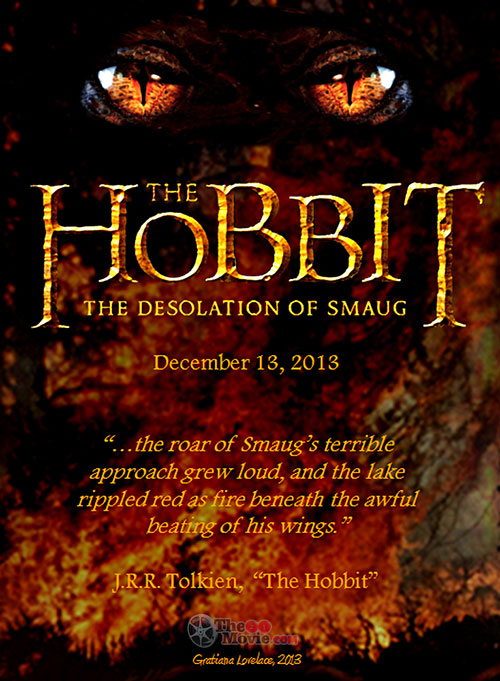 Download Movie : The Hobbit: The Desolation of Smaug (2013)