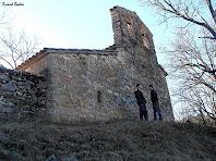 La façana de ponent de Sant Lleí de Casabella. Autor: Ricard Badia
