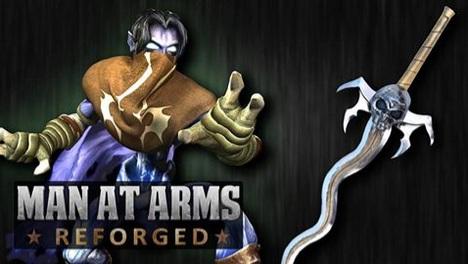 Recria a espada de Soul Reaver (Legacy of Kain)