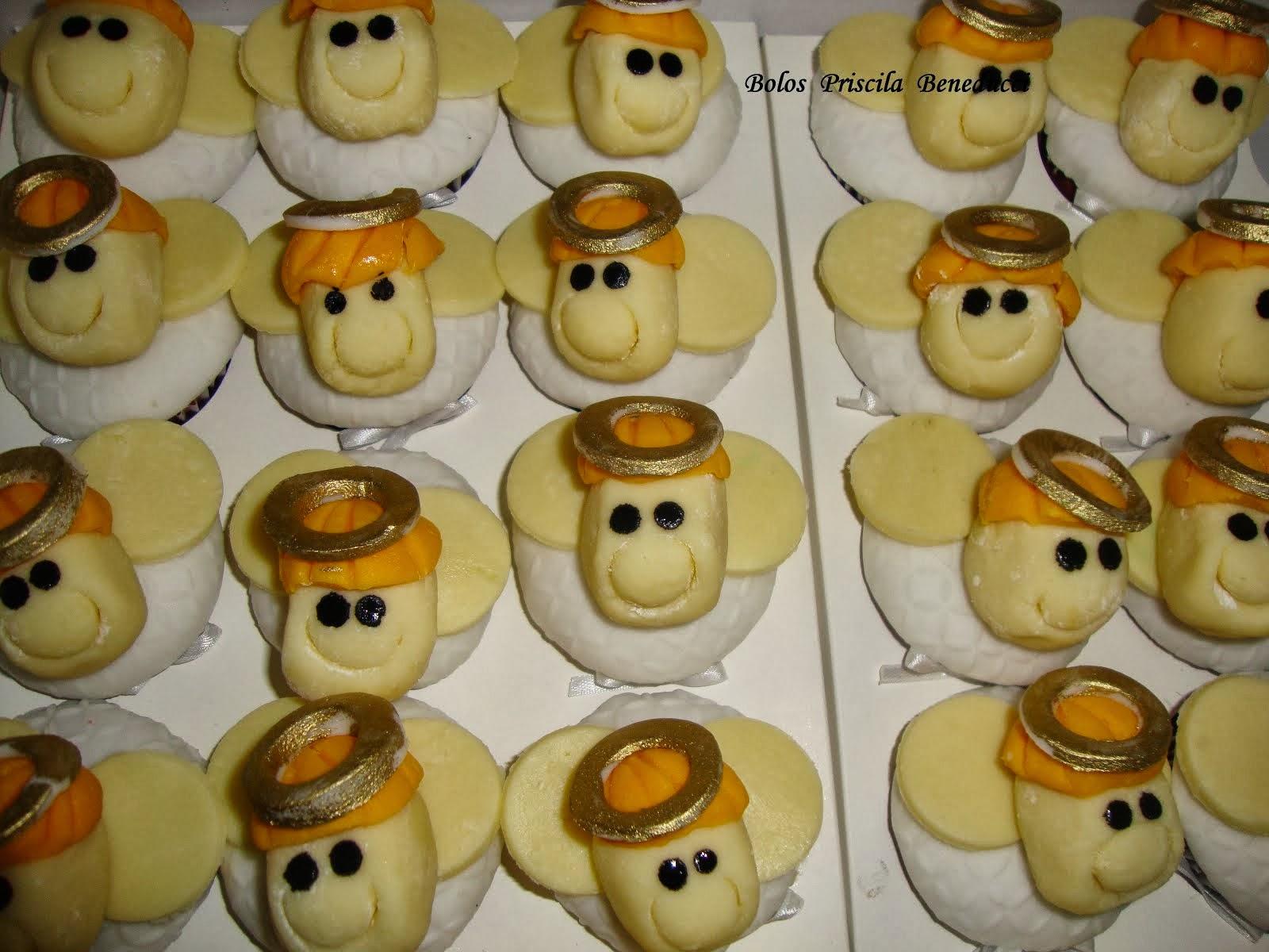 Cupcake Anjinho