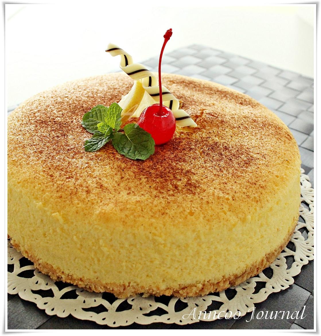 Lemon Cheesecake - Anncoo Journal