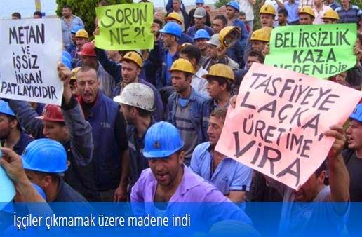 Madencilerin Öfkesi Kazanacak!