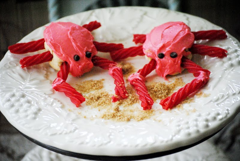 I do enjoy eating crab dipped in butter, though, and I am always a fan of ...