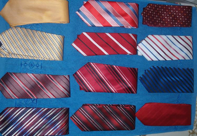 O mundo das gravatas
