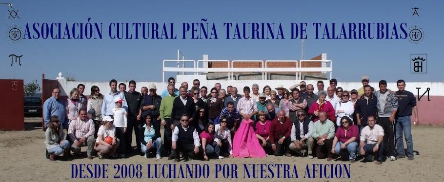 ASOCIACIÓN CULTURAL PEÑA TAURINA DE TALARRUBIAS (BADAJOZ)