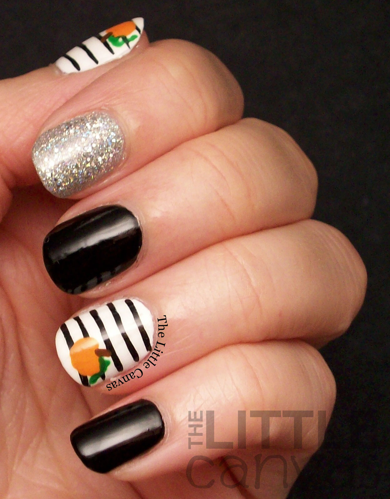 Cool Winter 2014 Nail Polish Trends Thick Nail Polish For Weak Nails Square Nails Art Black Nail Polish 2014 Colors Old Nail Fungus Cause PurpleEasy And Quick Nail Art The Little Canvas: Little Itty Bitty Pumpkin Nail Art