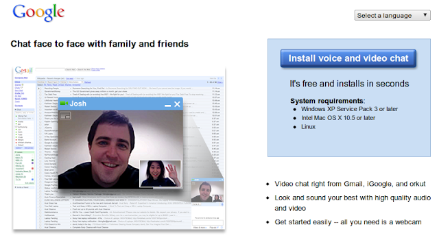 gmail video and voice chat in ubuntu 12.10