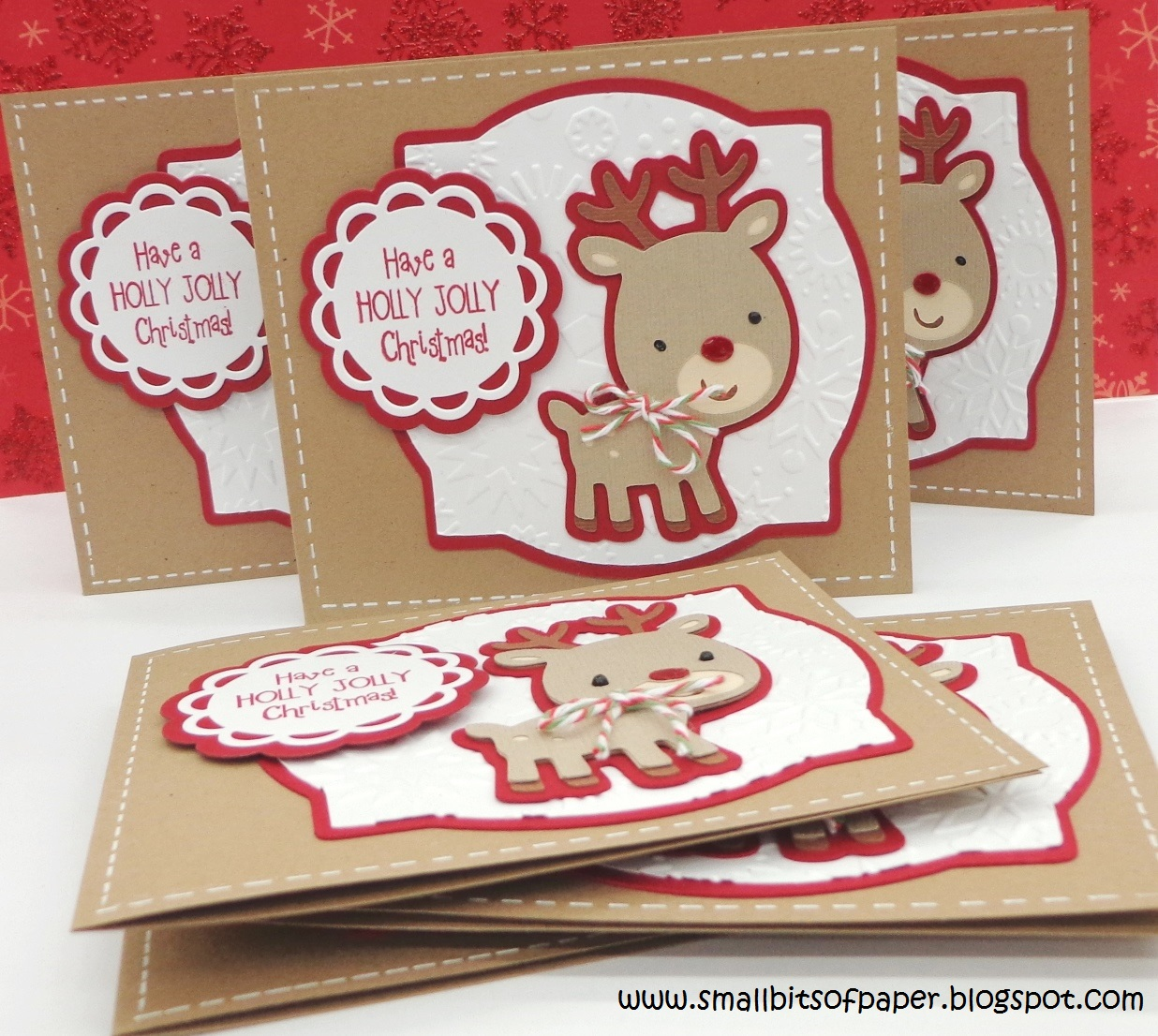 Collection of Rudolph The Red Nosed Reindeer Christmas Cards ...