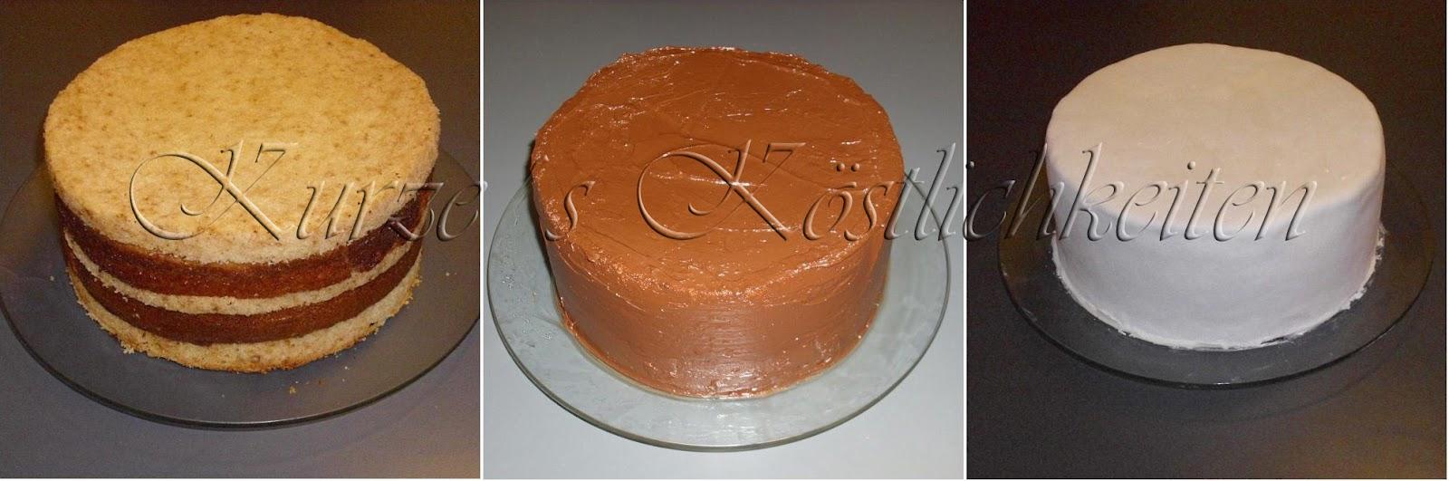 Kurze´s Köstlichkeiten: erste zweistöckige Torte zum 70. Geburtstag