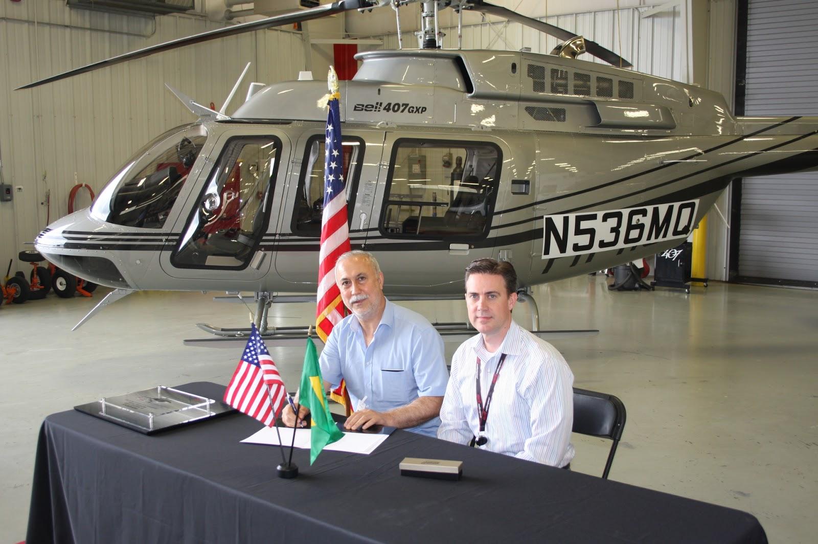 É MAIS QUE VOAR | Bell Helicopter entrega primeiro Bell 407GXP no Brasil