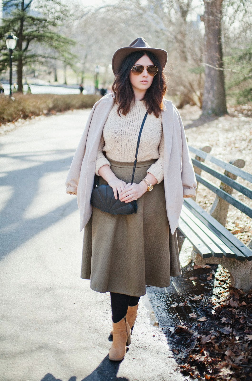 Philadelphia, fashion, blog, neutrals, felt, hat, balayage, sweater,
