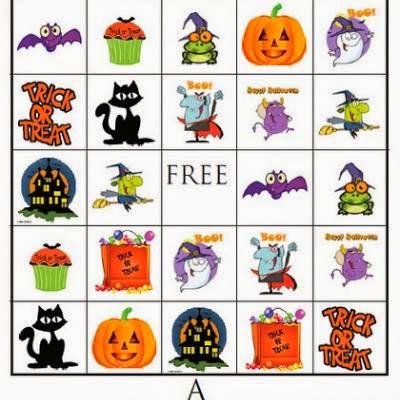 Free Halloween Bingo Cards Printable For Kids 2