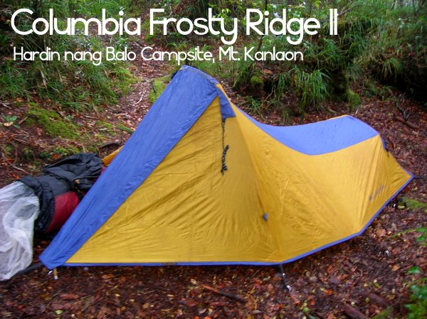My oldest tent in current use is none other than my favorite Columbia Frosty Ridge II 3-Season Tent a two-man tent that follows a tadpole-type ... & Gear Review: Columbia Frosty Ridge II Three-Season Tent - Pinoy ...