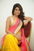 Shraddha das photos in Saree at Rey audio launch-thumbnail-16
