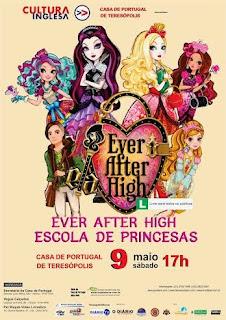 'Escola de Princesas' neste sábado em Teresópolis