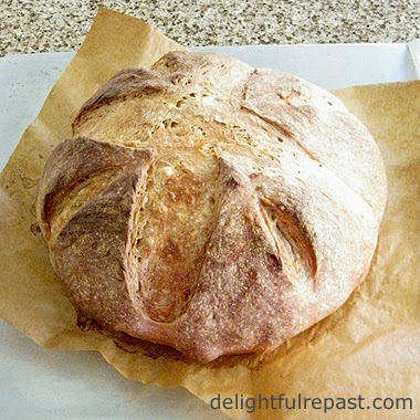 Easy Artisan Bread / www.delightfulrepast.com