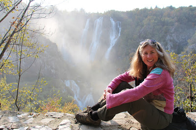Plitvice Lakes National Park, Croatia. Photograph of Janie Robinson, Travel Writer