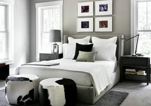 Dormitorios con paredes grises dormitorios con estilo for Paredes pintadas de gris
