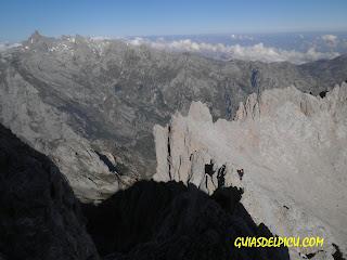 Guiasdelpicu.com , cresta de Cabrones Cerredo con Guia, Fernando Calvo