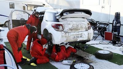 DS3 WRC suecia