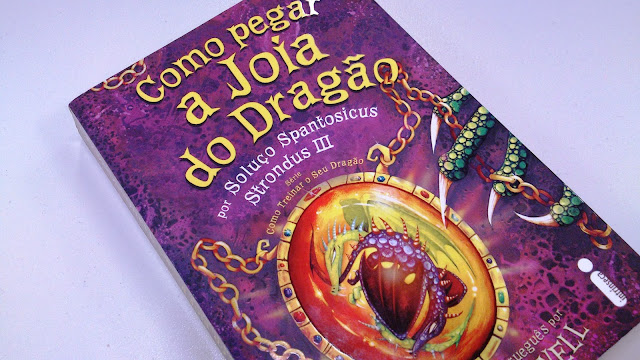 Como Pegar a Joia do Dragão - Chata dos Livros