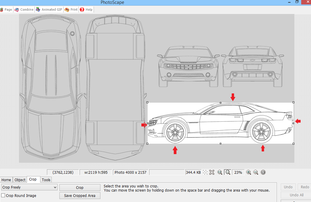 Tutorial setting up blueprint for 3d car modeling edit crop the blueprint match each of the edge of the body car using your image editor software malvernweather Images