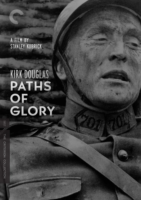 Kirk Douglas in Paths of Glory, Kubrick, 1957