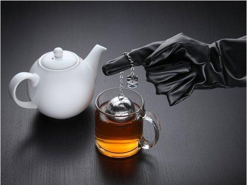 "Ситечко для чая в виде ""Звезды смерти"" star wars tea"