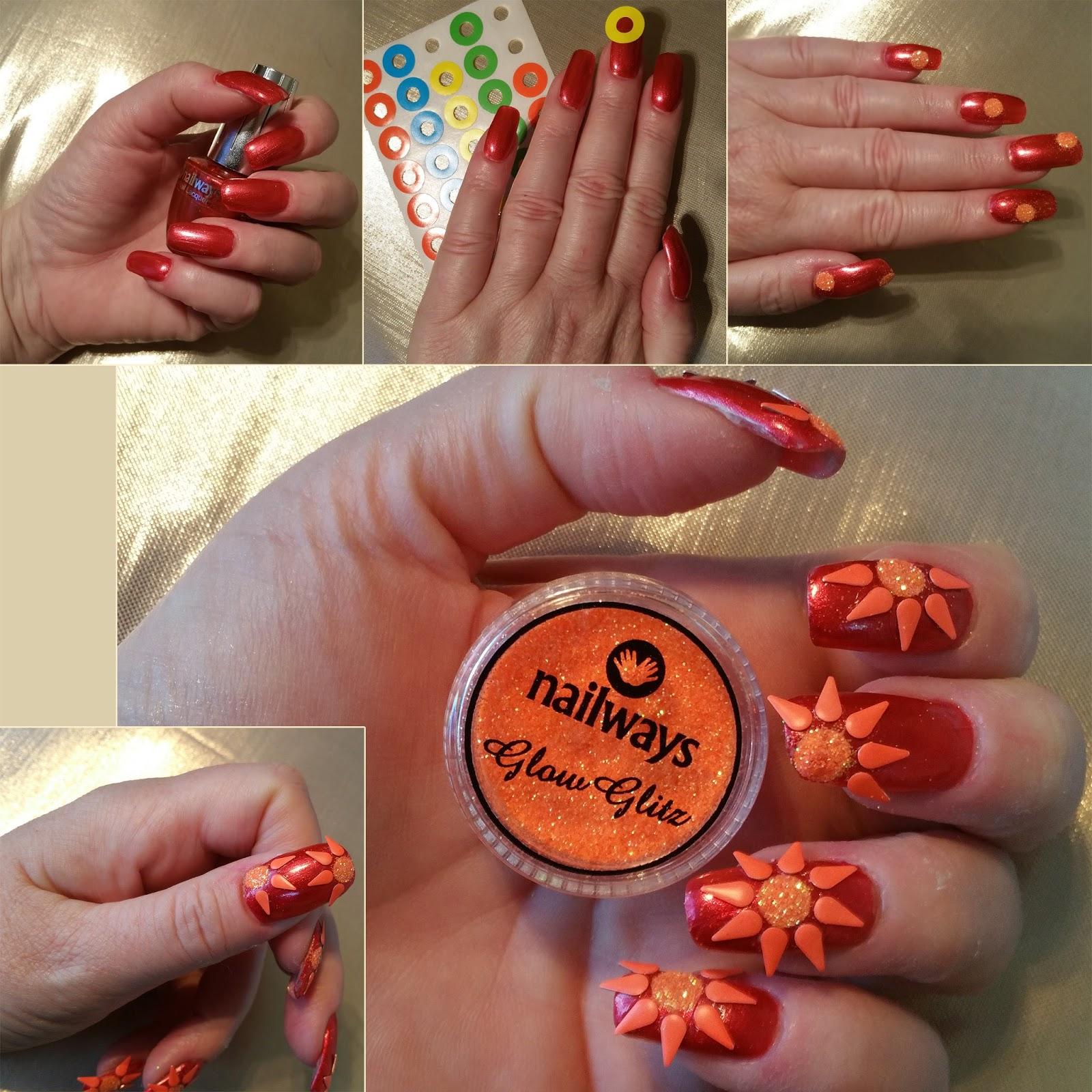 Nailways Funky Flower 3d Nail Art