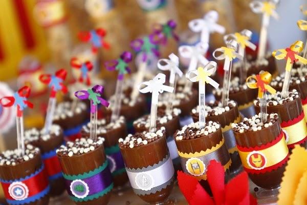 {dia de festa} festa vingadores - dicas de comida / reprodução internet