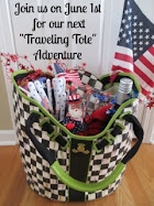 Look for Tales of the Traveling Tote #7 on June 1, 2016