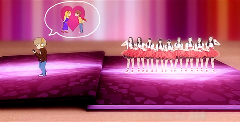 Lirik Lagu Cinta Monyet by Teenebelle