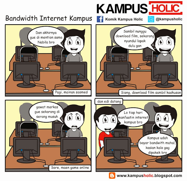 #387 Bandwidth Internet Kampus