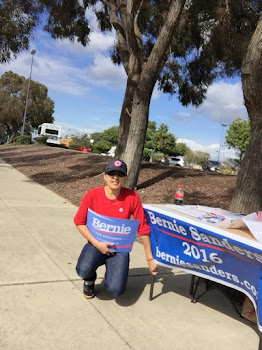 Former Watertown Resident Living in CA Enthused over Bernie