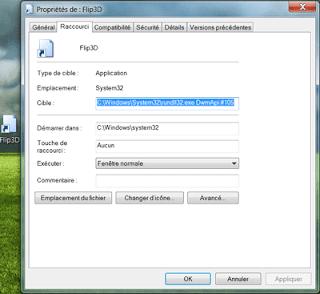 Pc astuces cr er l 39 icone 3d dans la barre des taches - Comment creer une icone sur le bureau ...
