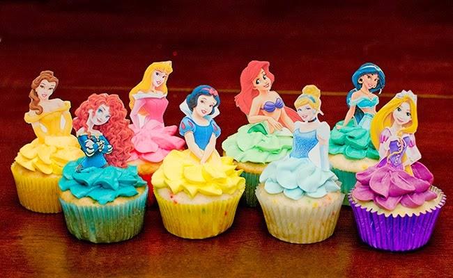ديكورات الأميرات السكر