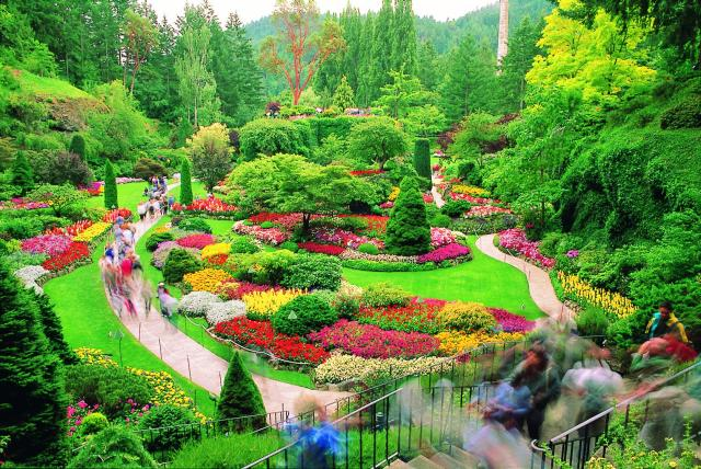 The most beautiful architecture - Best time to visit butchart gardens ...