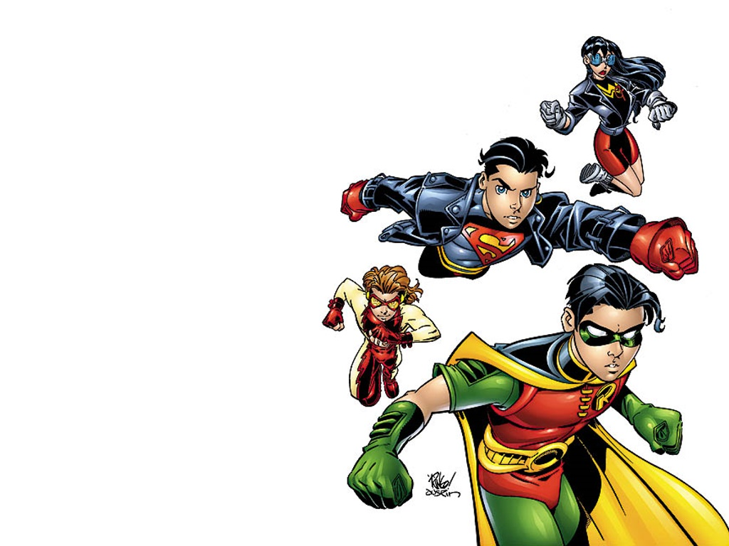 Young Justice Wallpaper Hd