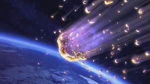 Te pintaron meteoritos en el aire