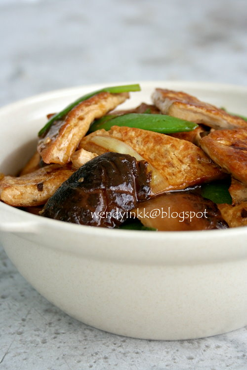 Table for 2 or more braised tofu with mushrooms pressed tofu 3 friday october 26 2012 forumfinder Choice Image