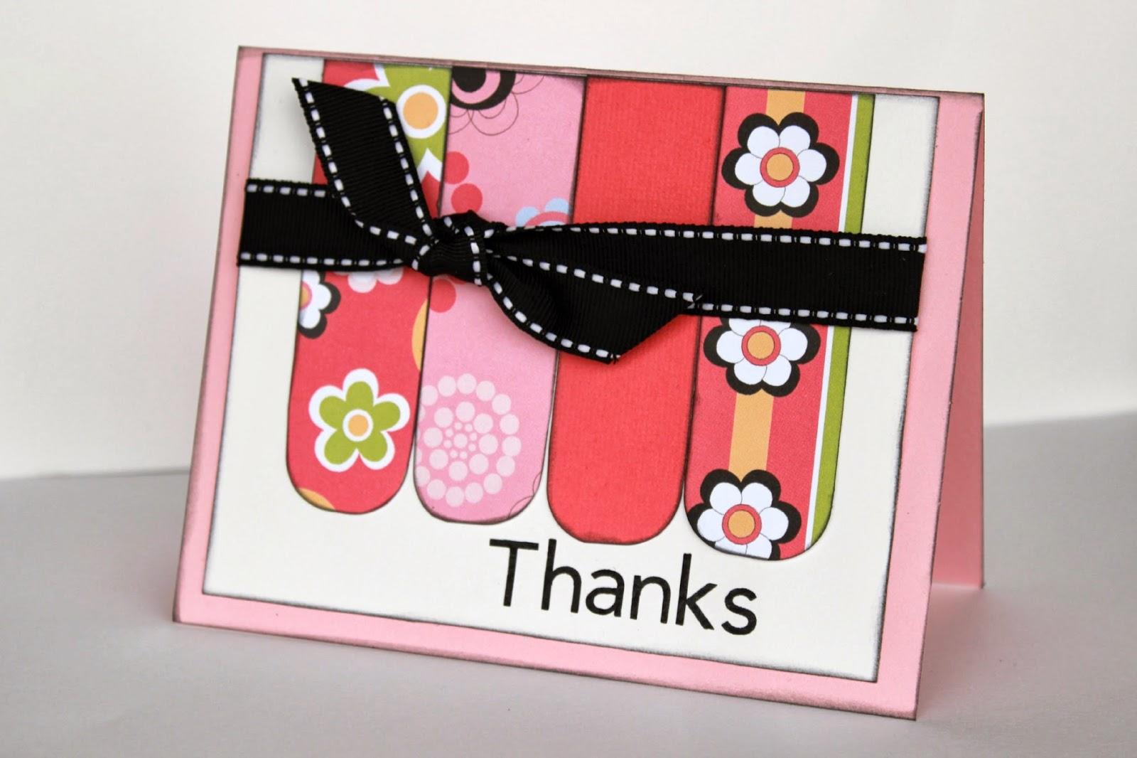 Thanks Card Tutorial from www.summerscraps.com