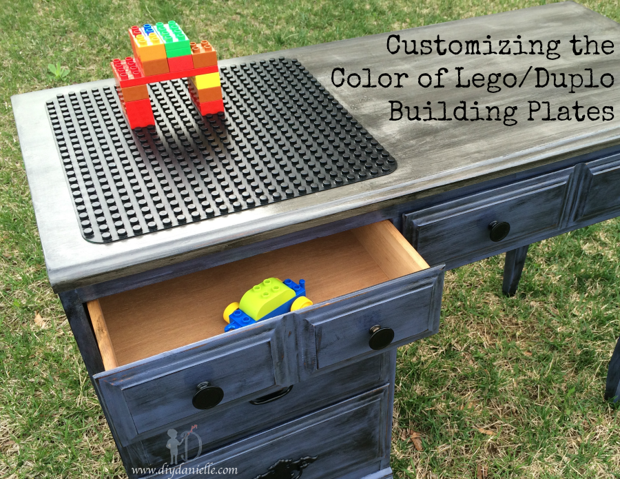 Customizing the Color: Lego or Duplo Building Plates