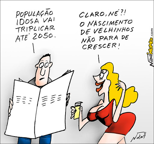 Charge com loura