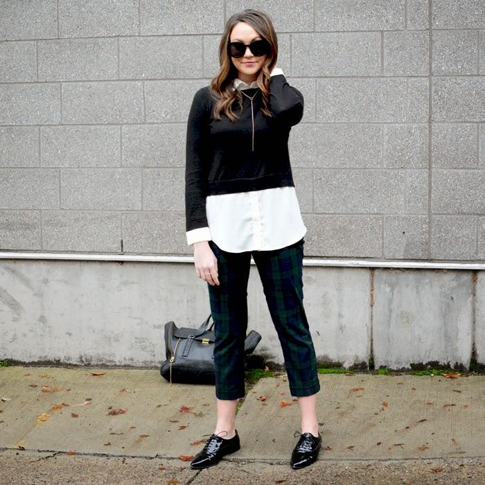 Fall Plaid Trousers